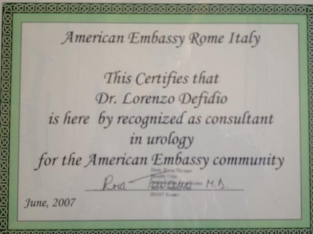 Americana Ambasciata